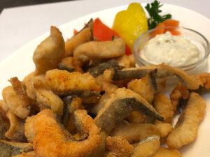 Verbano mixed fried fish